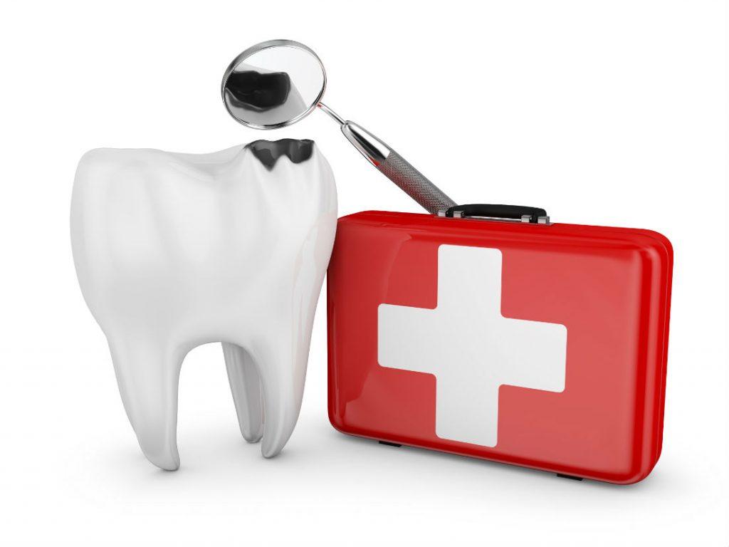 Ką daryti suskaudus dančiui